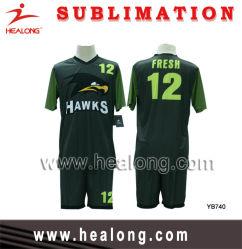 ヘロンフルスブリンションロイヤルグリーンとブラックのデザインサッカー セット(サッカーセット)