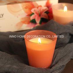 زجاجيّة [كندل هولدر] شمعة هبة محدّد [65غ] مصغّرة شمعة مجموعة لأنّ [جفتينغ]