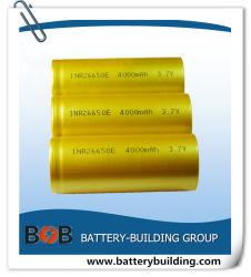 L'INR26650 3,7 V au lithium-ion 4000mAh cellule de la batterie