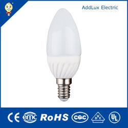 Ce UL Saso SMD 3W E12 Velas LED Lámpara