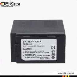 Venta caliente Batería para Cámara Digital apta para Panasonic/Hitachi 4500mAh D54S