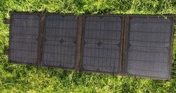 12V 40W Sunpower Panel Solar cargador para teléfono móvil
