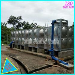 Modular de acero inoxidable de alta calidad de depósito de agua de bebida de almacenamiento