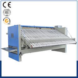 Bett-Blätter, die Maschine bügeln und falten