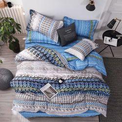 Linge de lit imprimé Imprimer Home Textile literie Housse de couette de luxe Feuille de Jeu de draps 3/4PCS Filles Don King Size Queen