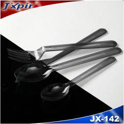주머니 휴대용 야영 칼붙이에 있는 승진 숟가락 포크 칼