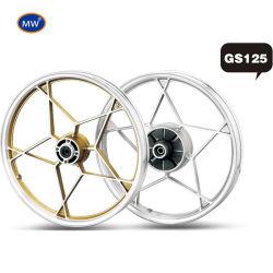 Freno a tamburo da 18 pollici, moto da cross country, ruota in alluminio GS125 Ruote in lega per motociclette