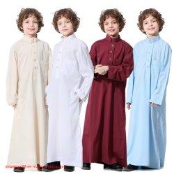 Los niños varones musulmanes manto - Oriente Medio árabe e islámico de manga larga adolescencia batas