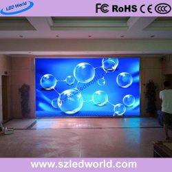 P4 для использования внутри помещений в аренду цветной дисплей со светодиодной подсветкой RGB на экране панели управления