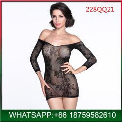 De Sexy Lingerie van vrouwen, Recentste Dame Babydoll, van het Sexy Ondergoed van de Schouder