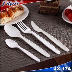 Lama di plastica della forcella del cucchiaio di mais dell'amido degli apparecchi bianchi biodegradabili dell'alimento