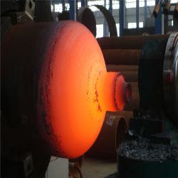 Acero de alta presión del depósito de máquina de formación del cilindro de GNC