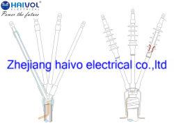 屋外11kv-35kv熱及び冷たく縮みやすい電源コードの終了および接合箇所キット(1および3コア)