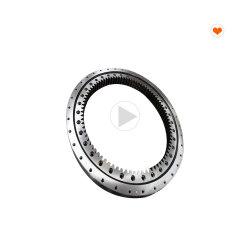 Engranaje interno caliente de rodillos cruzados de cojinete de anillo de rotación de Grúa torre