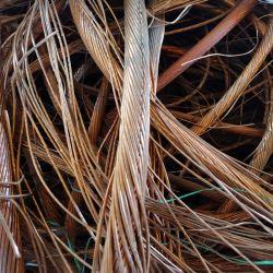 Bon marché de la ferraille, Fil de cuivre de haute pureté Rebut avec cuivre Fast Ship