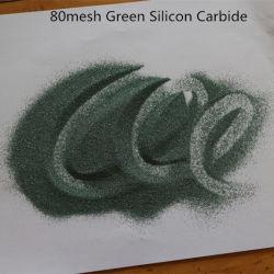 Bille de Sic Sic vert noir et vert Briquette de carbure de silicium