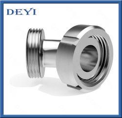 فولاذ لا يصدأ 304/316L 45 درجة حامي أنثى - ذكر الرعد مع طرف حز (dy-E028)