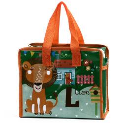 PP non tissé Duffle Bag laminé avec fermeture à glissière, Custom étanche de promotion de gros déménagement durable vêtements réutilisables Emballage Sac fourre-tout transporteur