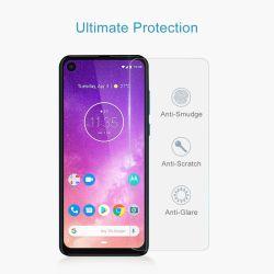 Commerce de gros 9h 2.5D 0.33mm verre trempé ultra clair la gamme Protection Ecran pour Motorola L'une/un/une vision d'alimentation