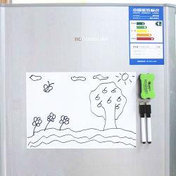 Effacement à sec magnétique feuille de tableau blanc pour la cuisine d'un réfrigérateur