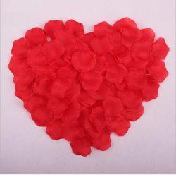Mariage Pétale de Rose, pétales de fleurs artificielles, de la soie de pétales de rose