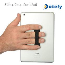 Uno de los dedos de mano correa de la eslinga de soporte del teléfono móvil de agarre para Tablet