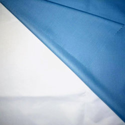 Tc plaine polyester coton ripstop respirant Tissu imperméable en PVC de PU