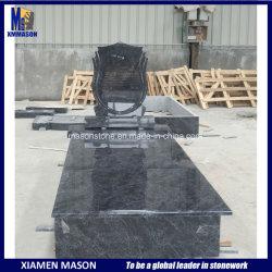 Monuments en pierre polie cimetière pierre tombale de granit Memorial objet tombstone