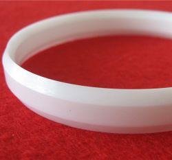 Les bords et double tranchant simple anneau en céramique de zircone pour coupe d'encre de tampographie