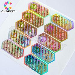 Высокое качество индивидуальный логотип 2D 3D Голографическая наклейка безопасности лазера