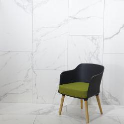 Het witte Marmer kijkt de Opgepoetste Ceramiektegel van het Porselein van de Vloer voor Badkamers
