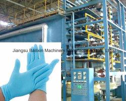 手袋用チップマシンでラテックス手袋を作る