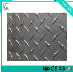 Оптовые цены на тиснение малого пять бар осветления поверхности алюминиевых Diamond пластину листов