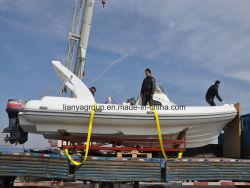 Barca gonfiabile rigida di pesca marittima della barca di sport di acqua di Liya Hyp830