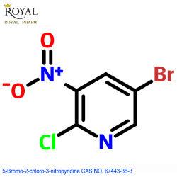 A melhor fabricante fornecer a melhor qualidade de 5-bromo-2-cloro-3-Nitropyridine CAS n° 67443-38-3
