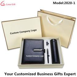 Venda por grosso de fábrica o logotipo personalizado Luxury Business casamento dom escritório portátil USB Caneta Caneca Definido