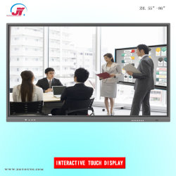 55 65 75 86 98-дюймовый интерактивный сенсорный экран с функцией Smart TV и электронные доски для совещания Конференции и Школы (XZMS638)