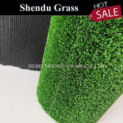 Moquette falsa 10mm dell'erba utilizzata mostra con 3/16 di vendita calda del calibro