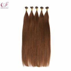 Реми с плоским наконечником кератин волос расширений сырья индийский храм волос