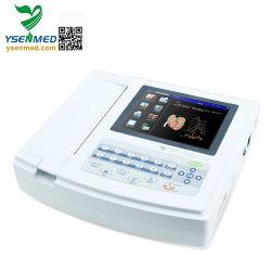 Ysecg-012t 12 canais digitais médicas máquina de ECG eletrocardiógrafo
