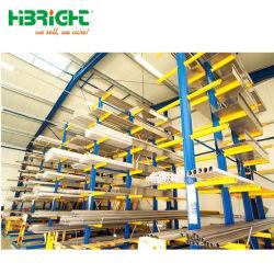 China Pesado de depósito de fábrica Cantilever Lumber Rack de armazenamento