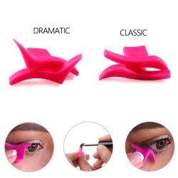 2pcs Eyeliner Ailes de timbres de joint du moule Eyeliner l'outil de jeu de maquillage