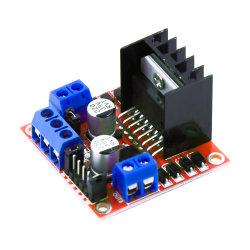 Venta caliente L298n de la Junta de controlador de motor, de color rojo, placa mini