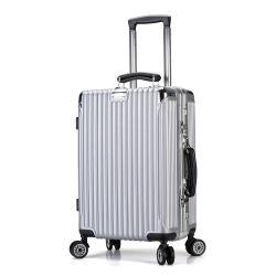 """패션 20"""" 22"""" 24"""" 28"""" 하드사이드 ABS PC 여행용 트롤리 가방"""