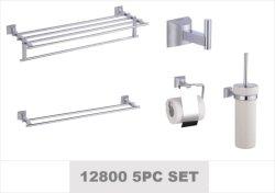 Finition PVD Toilettes Les toilettes 5PC défini Hotel salle de bains Accessoires (12800 série)