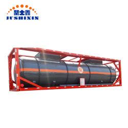 Contenitore del serbatoio di combustibile di iso utilizzato nuovo disegno dell'acciaio inossidabile 20FT/40FT della Cina