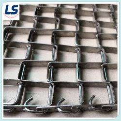 حزام الناقل الصناعي الصلب المجلفن أو الفولاذ المقاوم للصدأ