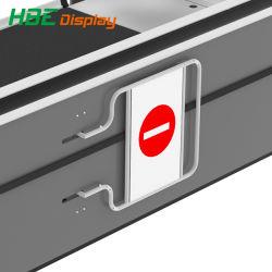 Sortie automatique de sécurité électrique de supermarchés le contrôle des accès tourniquet