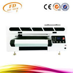طابعة مسطحة LED رقمية عالية السرعة تعمل بالأشعة فوق البنفسجية تعمل مع آلة الطباعة علبة الزجاج المعدني الخشبي