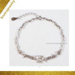 La fabrication de bijoux de mode couleur or 14K Cz Bracelet pour les filles